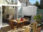 Decking area - perfect for dining alfresco!