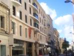 Street view of our apartment at 90 rue D'Antibes