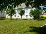 The Hohe Schule with main garden..