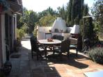 Outdoor dining /oven/bar bq