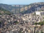 View of Modica. Copyright George Preston