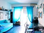 Turquoise sea view apartment with ample terrace!