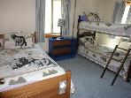 Third Bedroom with 3 Single Beds