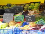 Lokale markt te Cosne-sur-Loire