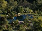 Foz do Banho: swimmingpool and ponds
