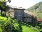 The Sleeping Quarters part of La Casa Padronale from the Garden...