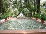 Magical gardens at Elche