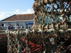 Mudeford is a busy little fishing village
