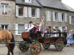 One of the many local Breton festivals