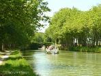 Lazy trips down the Canal Du Midi