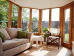 Garden room - ideal for morning coffee or an evening glass of wine