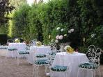 garden , settle for a wedding in june