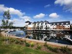 View of the Marina from Yachtsman's Rest - A perfect holiday destination.