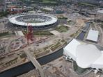 Olympic Stadium & Aquatics Centre. Ironworks development high