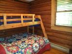 Twin-Over-Full Bunk Bed on Main Level Bedroom