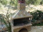 Large Traditional Stone Barbecue