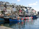 Mevagissey, a working harbour