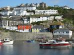 Mevagissey from Harbour