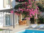 Dine Alfresco on the Pool Terrace