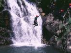 Canyoning in the Chamonix valley
