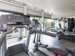 Fitness (Share facility at the sport club house)