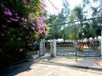 our beach gate entrance