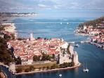 Trogir, a town where time stopped , a city that has a soul.