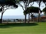 9 Hole course, par 33 with the famous 'Devils Parlour'. Golf Academy with good facilities
