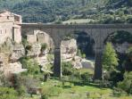 Take a stroll around Minerve.