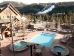Community Pool and Hot Tubs - Views of the Slopes
