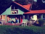 Fairytale wooden house by Ljubljana