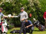 Paul McGinley at the St.Omer Golf Open held every June