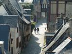Dinan old town