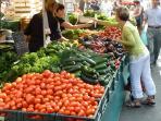 Saturday market in Rennes