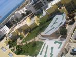 Aerial View Mini Golf