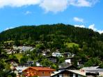 Situated very central, yet in a quieter part of historical town of Zell am See.