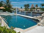 Superb heated pool