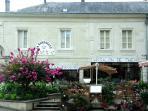 La Barbacane restaurant, Montreuil Bellay