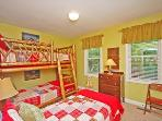 Bedroom 2 with Bunk Beds & Extra Twin!