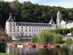 'Venice of the Perigord': exquisite Brantome with its fairy tale abbey and fine dining