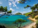 Tuscan beach onIsle of  Elba