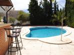 Villa Alegria Pool area