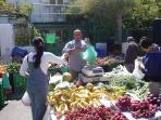 Market 2 days a week in Los Alcazares