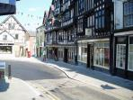 Bull Ring, Ludlow. Probably the best medieaval town in the country.