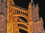 La basilique et ses chemins secrets à découvrir