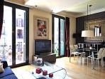 Living room city center apartment