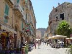 Tropea Main Street leading to Piazza