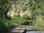 Footpath by Blockley Brook