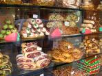 Delicious cakes and pastries