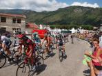 Tour de France runs close by every year. Come and follow the route.